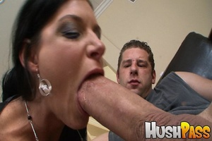 Nasty brunette hottie takes monster cock - XXX Dessert - Picture 7