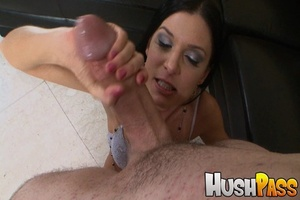 Nasty brunette hottie takes monster cock - XXX Dessert - Picture 10