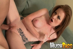 Gonger bitch takes huge pecker into her  - XXX Dessert - Picture 24