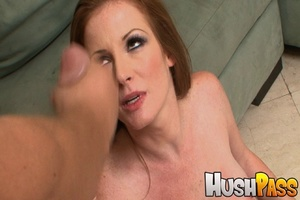 Gonger bitch takes huge pecker into her  - XXX Dessert - Picture 25