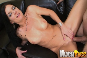 Nasty brunette hottie takes monster cock - XXX Dessert - Picture 13
