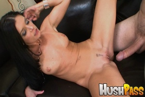 Nasty brunette hottie takes monster cock - XXX Dessert - Picture 14