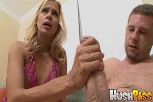 Blonde whore gets her slutty muff drille - XXX Dessert - Picture 6