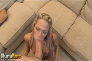 Blonde slut rubbing her cooch prior to s - XXX Dessert - Picture 14
