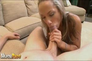 Blonde slut rubbing her cooch prior to s - XXX Dessert - Picture 22