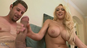 Blonde busty whore rides thick dick and  - XXX Dessert - Picture 4