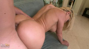Blonde busty whore rides thick dick and  - XXX Dessert - Picture 14