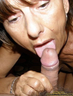 Homemade pics of brunette granny in coat - XXX Dessert - Picture 15
