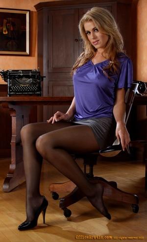 Hot cuttie in a blue dress takes it off  - XXX Dessert - Picture 5