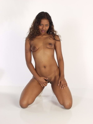 Curly Indian Girl In Tiny Shorts Toying  - XXX Dessert - Picture 6