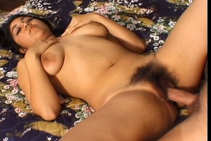 Indian Cutie Gets Hairy Pussy Fuck - XXX Dessert - Picture 3