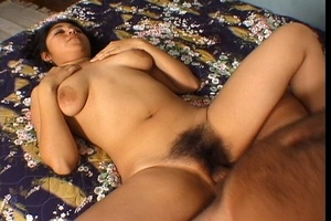 Indian Cutie Gets Hairy Pussy Fuck - XXX Dessert - Picture 4