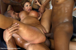 Blonde asian milf gets undressed and gan - XXX Dessert - Picture 9