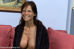 Big breast brunette milf and four horny  - XXX Dessert - Picture 12