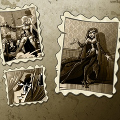 Cartoon xxx tale about two stunning warrior girls - Picture 3