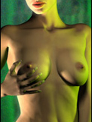Perfect bodies drawn hotties willingly posing nude - Picture 1