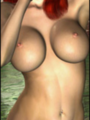 Perfect bodies drawn hotties willingly posing nude - Picture 3