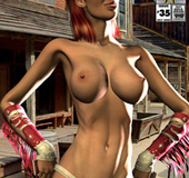 Totally naked cartoon girls like dirty talking and hardcore fucking with