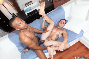 Tattooed gay opens his back door for a h - XXX Dessert - Picture 12
