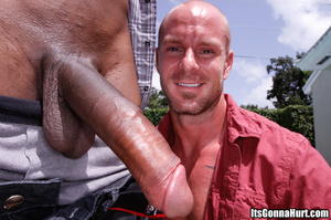 Two gays measuring their cock and the bl - XXX Dessert - Picture 3