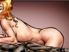 Blonde bitch fucking with her horny black - Popular Cartoon Porn - Picture 2