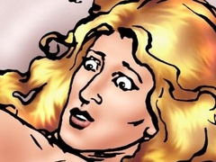 Blonde bitch fucking with her horny black - Popular Cartoon Porn - Picture 3
