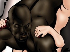Big black toon dude fucked badly hot lustful - Popular Cartoon Porn - Picture 2