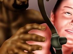 Black guy dominates mature bitch in cartoon - Popular Cartoon Porn - Picture 1