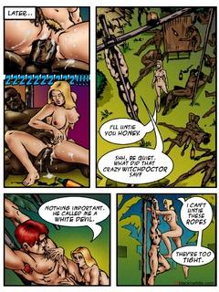 Horny black tribals enjoy fucking hard cool - Popular Cartoon Porn - Picture 4