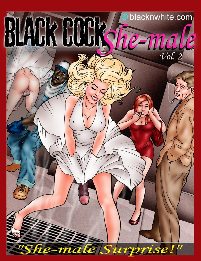 Big black dick comic