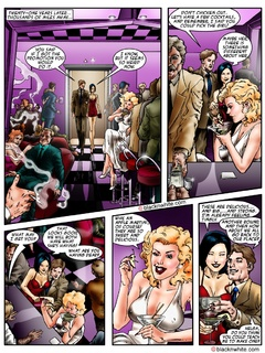 Hot threesome cartoon fucking with a blonde - Popular Cartoon Porn - Picture 2