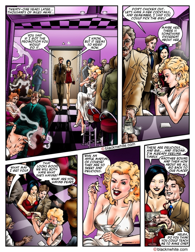 Hot threesome cartoon fucking with a blonde - Cartoon Sex - Picture 2