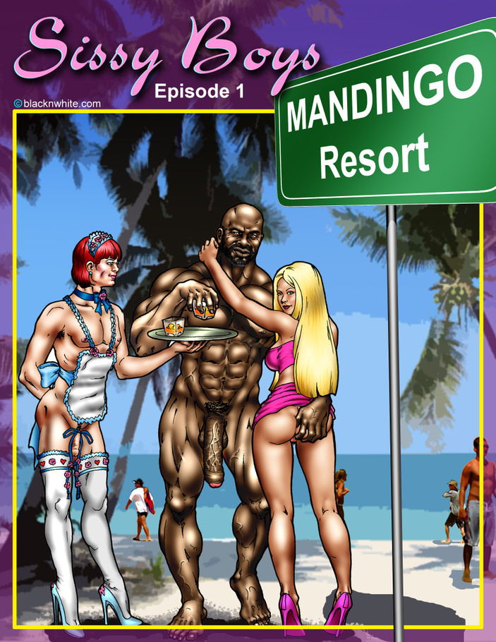 Mandingo Resort Where White Chicks Come To Play With And Fuck Big Black Cocks Cartoontube Xxx