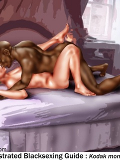 Dude gets horny when watching bald black dude - Popular Cartoon Porn - Picture 2