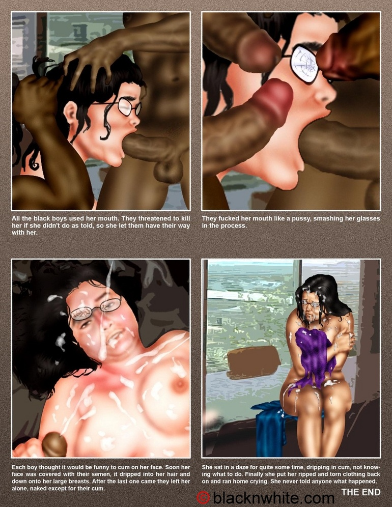 Black dude caught toon bitch and force her - Cartoon Sex - Picture 2