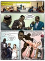 Big black dude fucking with two white - Picture 4