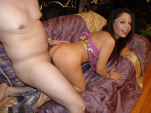 Horny Indian Girl Muffdived Fucked Doggy - XXX Dessert - Picture 9