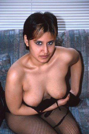 Cute Young Indian Chick In Stockings Fla - XXX Dessert - Picture 11