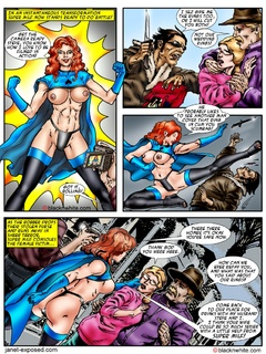 This super hero chick gets horny when see big - Popular Cartoon Porn - Picture 1