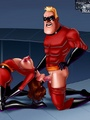 Mr Incredible bangs hard cool ginger - Picture 3