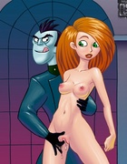 Bisexual Kim Possible Fucks Dr. Drakken and has fun with pretty chick