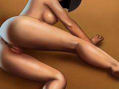 Horny Mulan enjoys jumping on a stiff rod - Popular Cartoon Porn - Picture 1