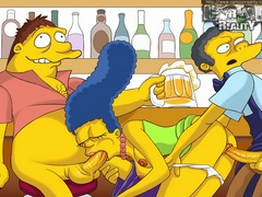 Nasty Marge Simpson participate in hot - Popular Cartoon Porn - Picture 1