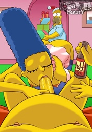 dick Marge sucking barts