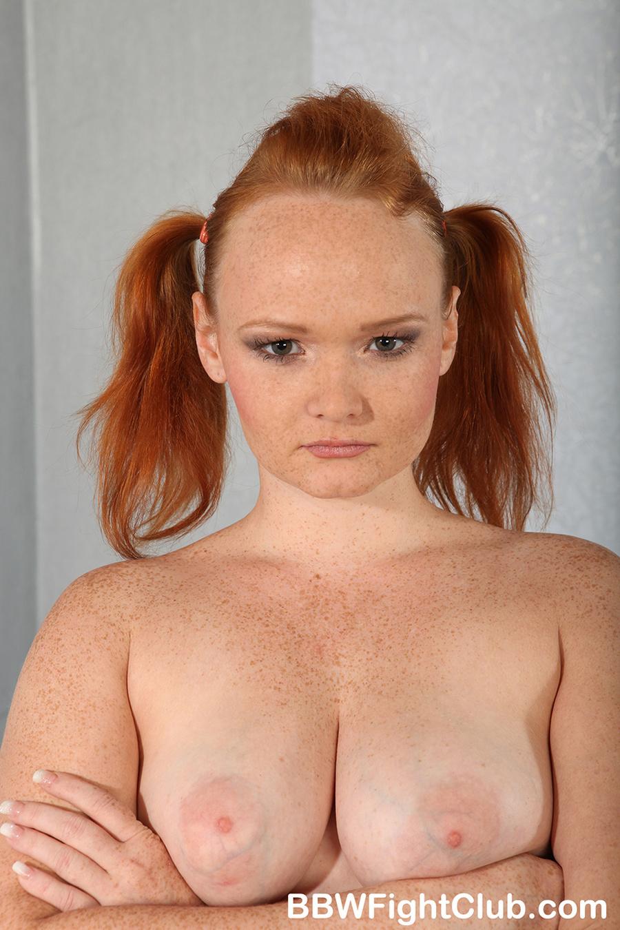 Chubby tits mature