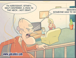 In dirty sex comics hot blonde wash an old guy in the - Picture 2