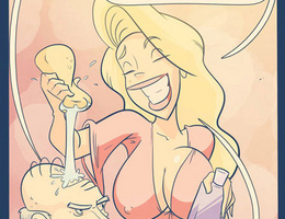 In dirty sex comics hot blonde wash an old guy in the - Picture 3