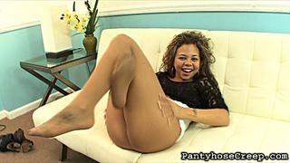 ebony chick curly hair