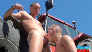 horny dude drilling lovers