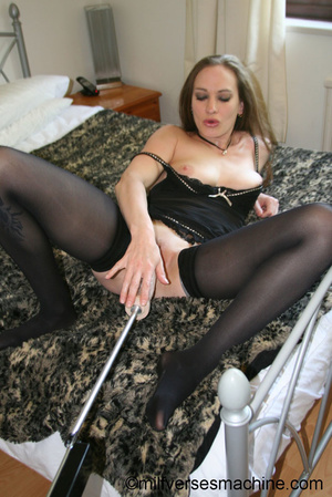 Gorgeous milf brunette in sexy body and  - XXX Dessert - Picture 13
